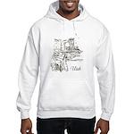 Vintage Utah Hooded Sweatshirt
