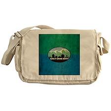 Vintage Salt Lake City Flag Messenger Bag