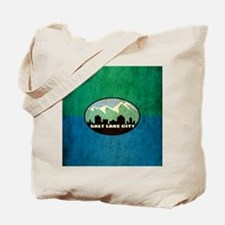 Vintage Salt Lake City Flag Tote Bag