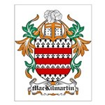 MacKilmartin Coat of Arms Small Poster