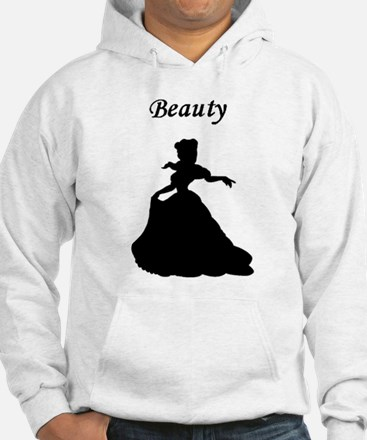 beauty and beast center Hoodie
