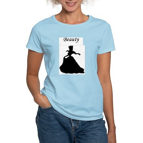 beauty and a beast lifting Women's Light T-Shirt