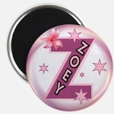 Zoey 2.5 inch Star Initial Magnet