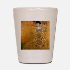 Klimt Portrait of Adele Bloch-Bauer Shot Glass