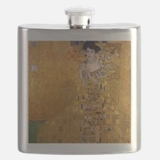 Klimt Portrait of Adele Bloch-Bauer Flask