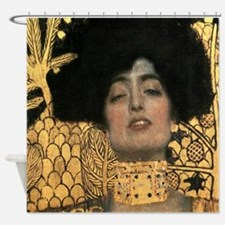 Gustav Klimt Judith (Detail) Shower Curtain