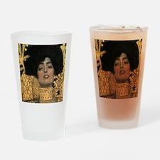 Gustav Klimt Judith (Detail) Drinking Glass