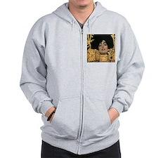 Gustav Klimt Judith (Detail) Zip Hoodie