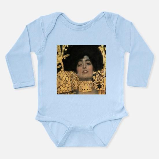 Gustav Klimt Judith (Detail) Long Sleeve Infant Bo