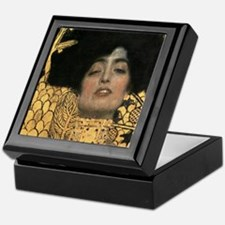 Gustav Klimt Judith (Detail) Keepsake Box