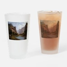 Bierstadt Gates Of Yosemite Drinking Glass
