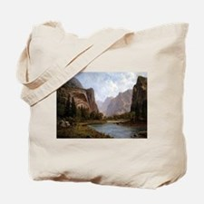 Bierstadt Gates Of Yosemite Tote Bag