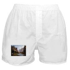 Bierstadt Gates Of Yosemite Boxer Shorts