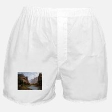Bierstadt Gates Of Yosemite Boxer Shorts