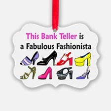 BANK TELLER Ornament