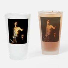 Caravaggio David Goliath Drinking Glass
