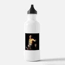 Caravaggio David Goliath Sports Water Bottle
