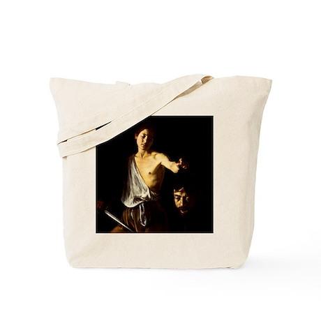 Caravaggio David Goliath Tote Bag