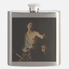 Caravaggio David Goliath Flask