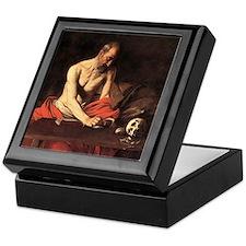 Caravaggio St Jerome Keepsake Box