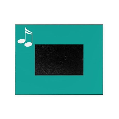Music Notes Gift Picture Frame