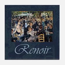 Renoir Le Moulin de la Galette Tile Coaster