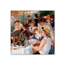 Renoir Luncheon Of The Boating Party Square Sticke
