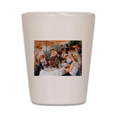 Renoir Luncheon Of The Boating Party Shot Glass