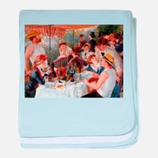 Renoir Luncheon Of The Boating Party baby blanket