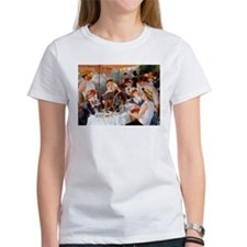 Renoir Luncheon Of The Boating Party Tee