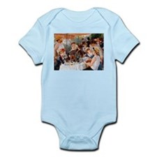 Renoir Luncheon Of The Boating Party Infant Bodysu