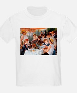 Renoir Luncheon Of The Boating Party T-Shirt