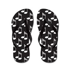 Band or Choir Music Flip Flops
