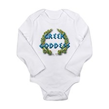 Unique Goddess Long Sleeve Infant Bodysuit