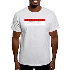 "Star Craft ""Serve the Hive!"" Ash Grey T-Shirt"