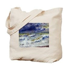 Renoir Seascape Tote Bag