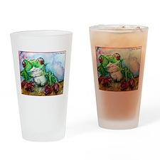 Tree Frog, rainforest, art! Drinking Glass