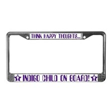 Indigo Child License Plate Frame