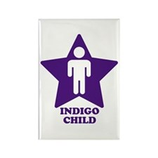 Indigo Child Rectangle Magnet