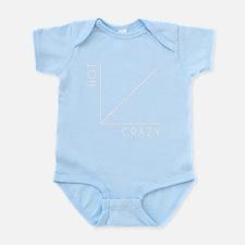 HOT vs CRAZY Infant Bodysuit