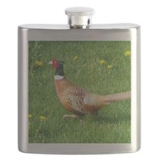 Ring-necked Pheasant Flask