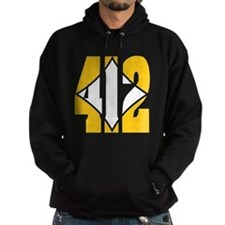 412 Gold/Whilte-D Hoodie