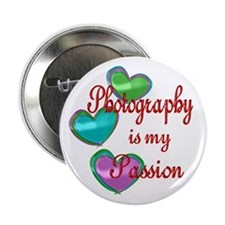 """Photography Passion 2.25"""" Button"""
