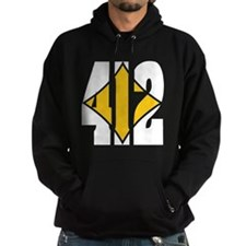 412 White/Gold-W Hoodie