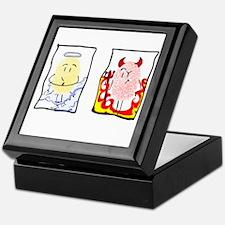 Angel and Devil Keepsake Box