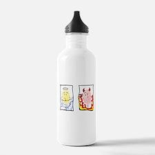 Angel and Devil Water Bottle
