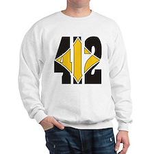 412 Black/Gold-W Sweatshirt