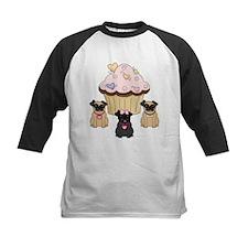 Cupcake Pug Dogs Tee