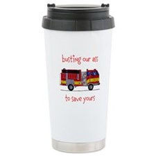 Busting Our Ass Travel Mug