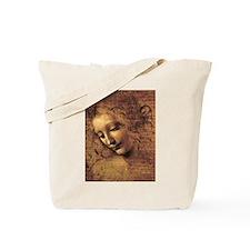 Leonardo Da Vinci La Scapigliata Tote Bag